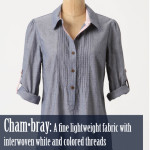 Technically Speaking: Chambray