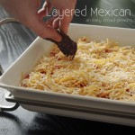 A Dish to Pass – Layered Mexican Dip