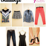 Wardrobe Challenge – 7 Pieces, 7 Outfits