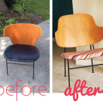 Before & After: Mid-Century Chair