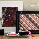 Ditto DIY Challenge – Framing Fabric
