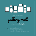 Creating a gallery wall – Where to buy affordable art