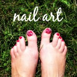 Trying the trend: nail art