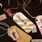 DIY Plastic Wine Tags