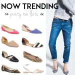 Spring Shoe Trend – Pointy Toe Flats