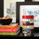 DIY: Decorative Collage Canister