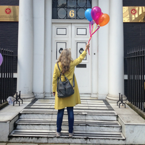 Xanthe Berkeley Balloons London
