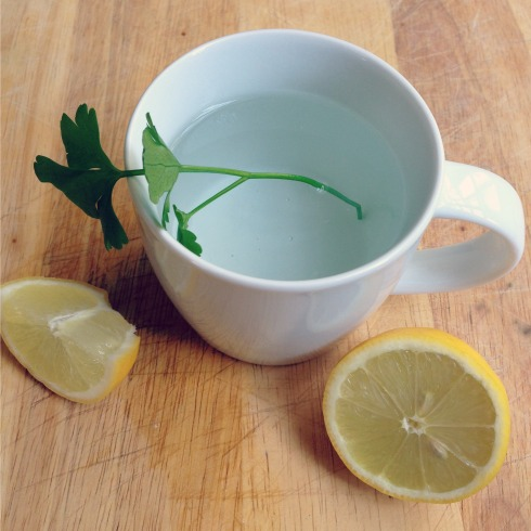 fresh parsley tea health benefits