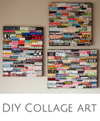 DIY Collage Art