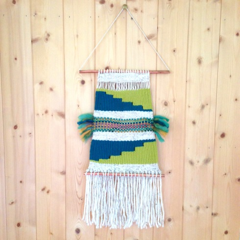 DIY wall hanging tutorial macrame