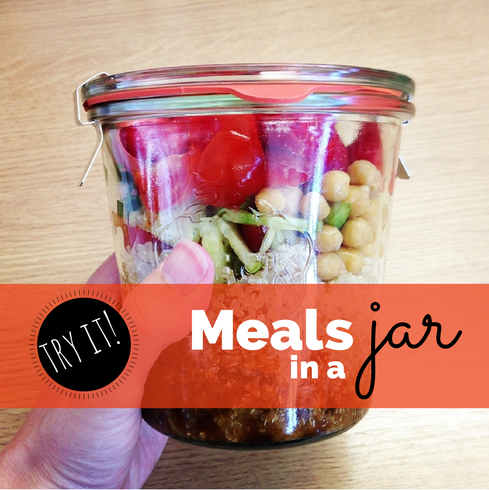 meals in a mason jar recipe